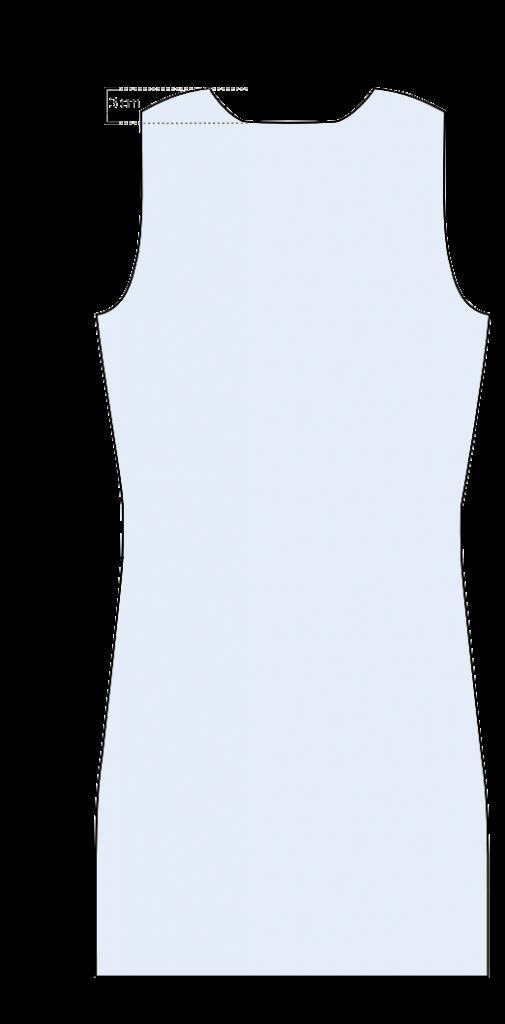 Breien - rode trui - achterpand