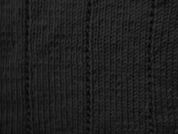 Breien - zwart-wit vestje - detail pand