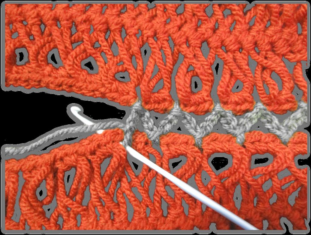 guimpebanen verbinden - lossen en halve vasten