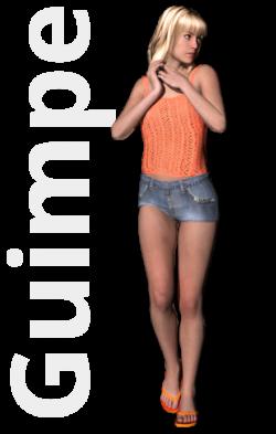Gratis guimpepatroon - oranje top - thumbnail