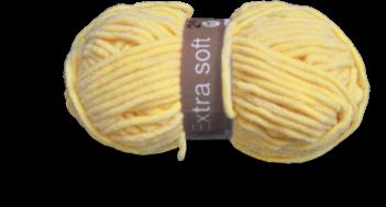 Breien - geel vest - garen