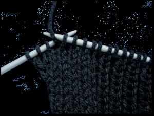Gratis breipatroon - mouwloos vest - illustratie 2 - verkorte naald