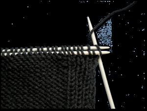 Gratis breipatroon -mouwloos vest - illustratie 1 - schouder