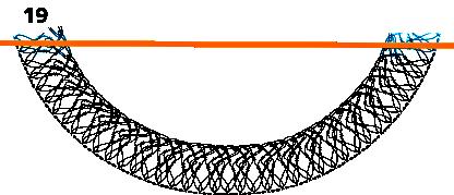 Gratis guimpepatroon - zilvergrijze trui - kraag