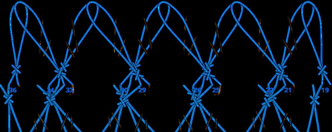 Gratis guimpepatroon - zilvergrijze trui - patroon 2