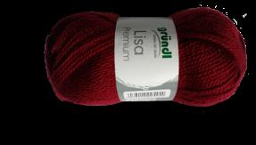 Gratis guimpepatroon - rood rokje - Lisa garen
