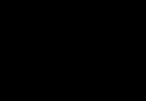 Guimpe - Witte trui - ongelijke banen 1