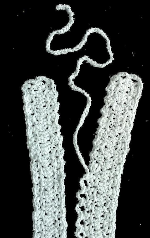 Guimpe - witte trui - middenvoor 1