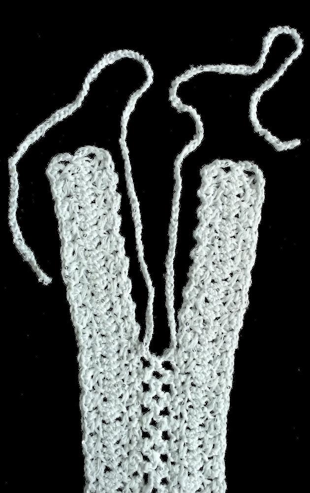 Guimpe - witte trui - middenvoor 2
