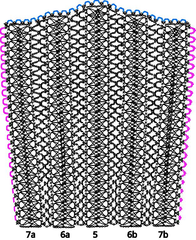 Guimpe - Witte trui - Mouw