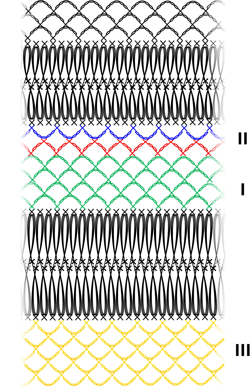 Lurex tuniek - patroon