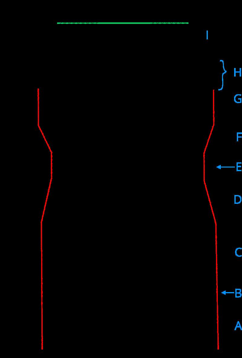 Lurex tuniek - achterpand