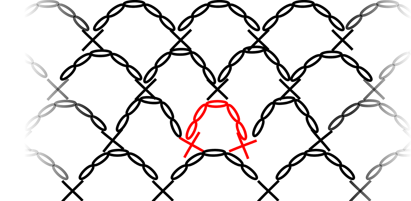 Lurex tuniek - meerderen